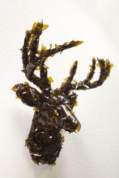 Seyo Cizmic - bulletproof Broken glass on deer head