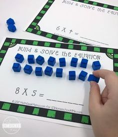 FREE Interactive Multiplication mats are a fun way for 3rd grade, 4th grade, and 5th grade to learn about and practice multiplication. These multiplication worksheets are great for homeschool, math centers, extra practice, summer learning, and more!