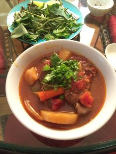 Vietnamese beef stew in slow cooker (bo kho)