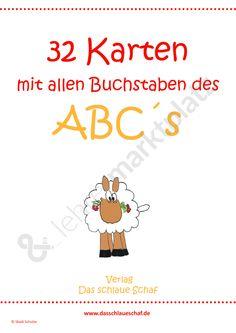 Das ABC Flashcards - Seite 1