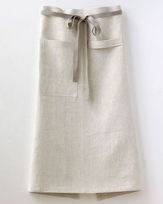 CAFÉ Apron in Oatmeal by STUDIOPATRO on Etsy, $68.00