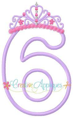 Crown-number-applique- creative app