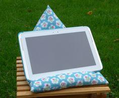 Ipad beanbag cushion tablet stand handmade