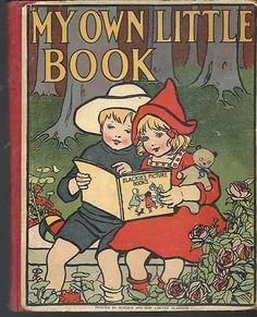 1915 MY OWN LITTLE BOOK STORIES GLASGOW BLACKIE