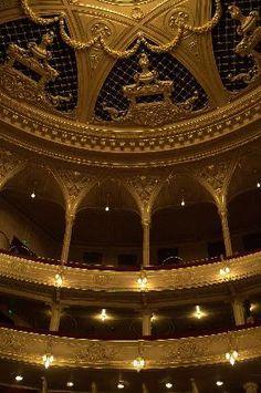 Kyiv, Ukraine - interior of the opera house - #Ukraine Guest #Show Biz: Visiting world-famous shows in Ukraine: calendar, ticket price, location, post-show reviews see http://goukraineexpat.info/guest_show_biz