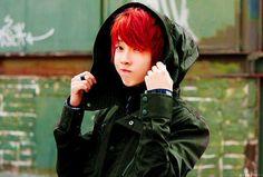 red hair ulzzang boy   We Heart It
