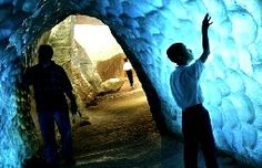 springfield indiana, caverns | Cincinnati Museum of Natural History Ice Cave / Glacier Exhibit: sound ...