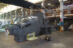 Bell AH-1 Cobra Attack Helicopter @ Pacific Aviation Museum Pearl Harbor