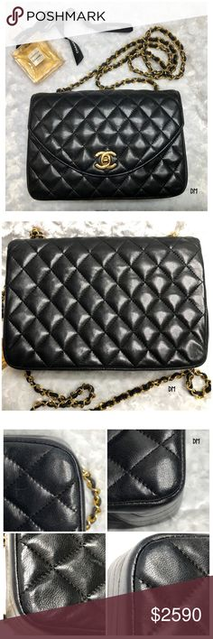 I just added this listing on Poshmark  Authentic Medium Size Vintage  Lambskin Chanel Bag. f53a400fa9f9c