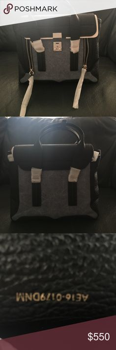 3.1 Phillip Lim medium Pashli NWT Black leather/ Demi medium Pashli, brand new comes with authenticity card and dust bag. 3.1 Phillip Lim Bags Crossbody Bags