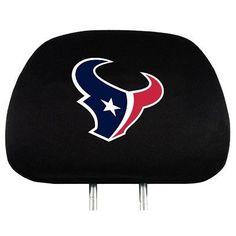 Head Rest Cover - Houston Texans