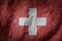 Old Vintage Grunge Switzerland Flag Art Print by productpics