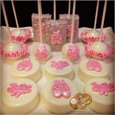 O Pops by Angie - beautiful ballerina chocolate covered oreos and cakepops and rice krispie treats