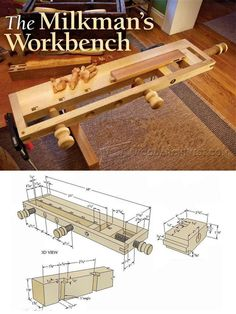 Milkman's Workbench Plans - Workshop Solutions Plans, Tips and Tricks | WoodArchivist.com