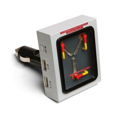 Flux Capacitor USB Car Charger from @thinkgeek
