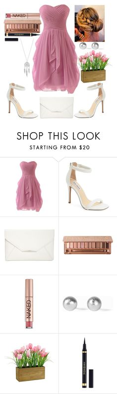 """""""Bridesmaid outfit"""" by jasmine-rlrh on Polyvore featuring Steve Madden, Style & Co., Urban Decay, Snö Of Sweden, Yves Saint Laurent and Lucky Brand"""