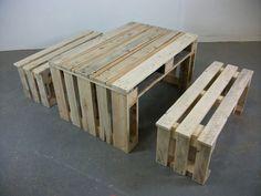 pallet furniture - backyard next year!