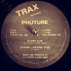 #nowspinning Phuture - Slam. Trax Records: TX165 (1988). Staying on the acid tip I present the ground breaking timeless classic Slam. Bringing the Roland 303 back from the grave and acid to the (underground massive). You know it as soon as you hear the lead in bass kick cow bell and hat. Then the acid fun starts and that deep rumbling bass slams over the top. More and more elements are added and it rolls and rolls pausing the percussion every now and again for some tweaks on the 303…