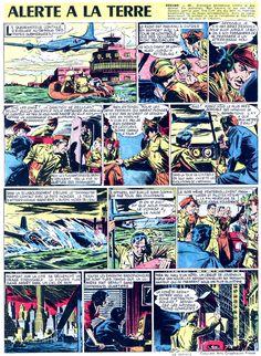 Alerte À La Terre Christian Mathelo Marijac Jacques Dumas  Coq Hardi n°67 du 06 mars 1952