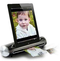 Photo iPad scanning dock