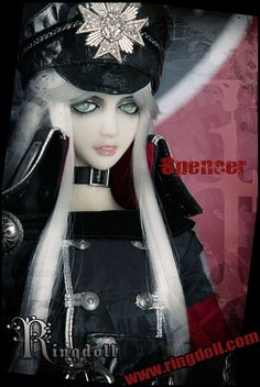 Spencer, 63cm Ring Doll - BJD Dolls, Accessories - Alice's Collections