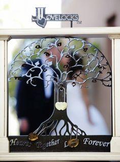 Tree of life, love lock
