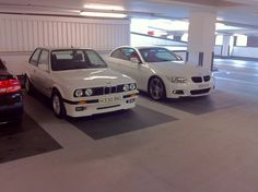 BMW E30 318is Alpine White - Old and New