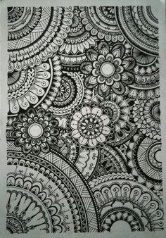Mandala Doodle, Henna Mandala, Dibujos Zentangle Art, Zentangles, Doodle Art Drawing, Mandala Drawing, Mandala Artwork, Mandala Painting, Deviantart Drawings