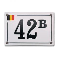 HE-60 emaille huisnummer 'Baarle Hertog'. De trots van België, geplaatst op een emaille bordje samen met jouw huisnummer! Flip Clock, Home Decor, Enamel, Seeds, Decoration Home, Room Decor, Home Interior Design, Home Decoration, Interior Design