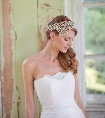 Resultado de imagen para bandas bordadas para el pelo para novias