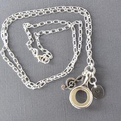 GiftJewelryShop Silver Tone Trumpet Sapphire Crystal September Birthstone Red Santa Hat Charm Bracelets