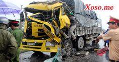 Tránh đàn vịt, xe tải tông liên hoàn khiến 1 tài xế chết thảm