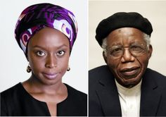 "Chimamanda Adichie pays tribute to Chinua Achebe at 82. ""I grew up writing imitative stories. Of characters eating food I had never seen and having conversations I had never heard. They might have..."