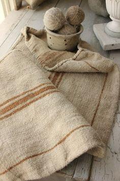 Antique Grain Sacks Sack Natural Hemp Homespun