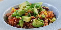 Virkelig nem vegetarisk ret med quinoa, der er fyldt med herlige mexicanske smage.