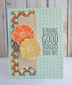 Good Thoughts by Ronie - Cards and Paper Crafts at Splitcoaststampers