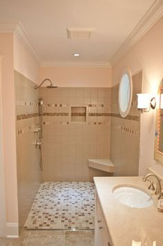 Walk In Shower Small Space Design, Pictures, Remodel, Decor and Ideas - page 23