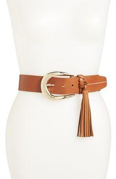 MICHAEL Michael Kors Buckle Tassel Belt | Nordstrom #Shopping #OnlineShopping #MichaelKors