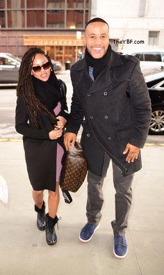 Meagan Good and her filmmaker/preacher husband DeVon Franklin