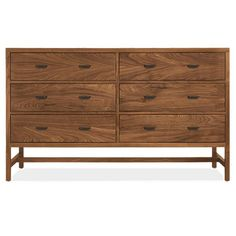 Room & Board - Berkeley 60w 20d 36h Six-Drawer Dresser