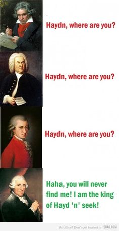 Music jokes...
