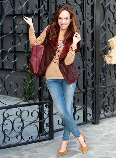 Petite fashion bloggers :: Sydne Style :: Fuzzy Wine