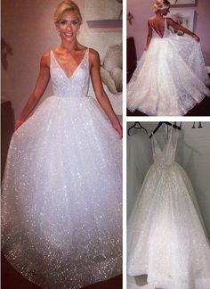 V Neck Prom Dresses, Long Wedding Dresses, Sexy Dresses, Bridal Dresses, Wedding Gowns, Evening Dresses, Formal Dresses, Lazaro Wedding Dress, Pageant Dresses