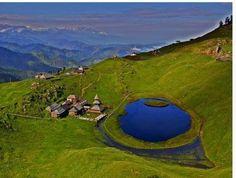 Parashar Lake in H.P India