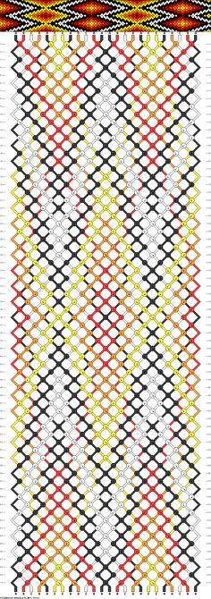 Muster # 74330, Streicher: 24 Zeilen: 70 Farben: 5