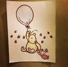 Drawing ideas - Winnie the Pooh