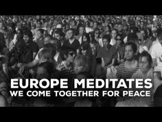 Europe Meditates - We come together for Peace | #Meditation #MeditateWithSriSri #SriSriRaviShankarMeditation #MeditationForPeace #EuropeMeditate #MeditationInEurope #MeditationEvent #MeditationInEurope #EuropeMeditation
