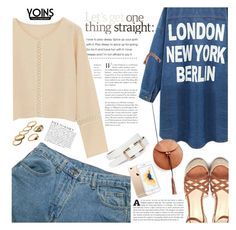 Yoins by anarita11 on Polyvore featuring polyvore fashion style Anja clothing