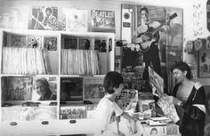Arnaldo Fiaschi/Estadão - Loja de discos no centro de São Paulo em 1984