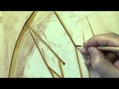 3.1 - THE PRELIMINARY DRAWING - DRAWING DIRECTLY ON THE BOARD - YouTube